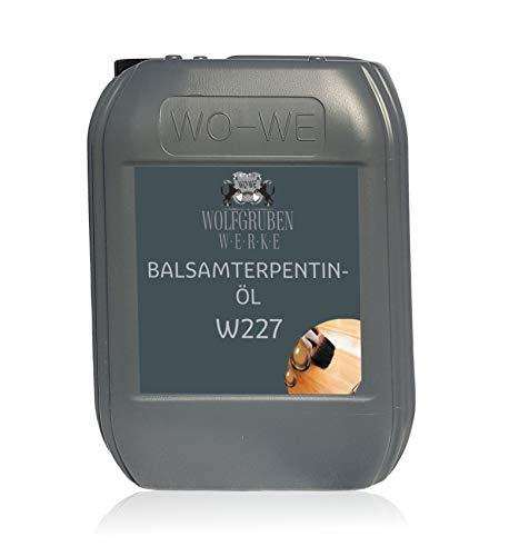 Aceite de trementina (bálsamo) para diluir la pintura, aceite y oleo W227-5L