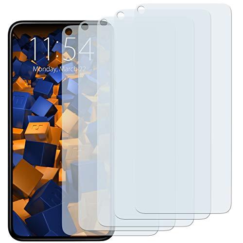 mumbi Schutzfolie kompatibel mit Google Pixel 5 Folie klar, Bildschirmschutzfolie (5X)