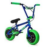 New 2021 Fatboy Pro X Atomic Mini BMX Bike (Blue/Neongreen)