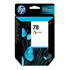 HP 78 ink cartridges work with: HP Deskjet 3820, 920, 9300, 930, 932, 940, 955, 960, 980. HP Officejet g55, g85, k80, v40. HP PSC 750, 950. Up to 2x more prints with Original HP ink vs refill cartridges. Cartridge yield (approx.): 560 pages.  Compati...
