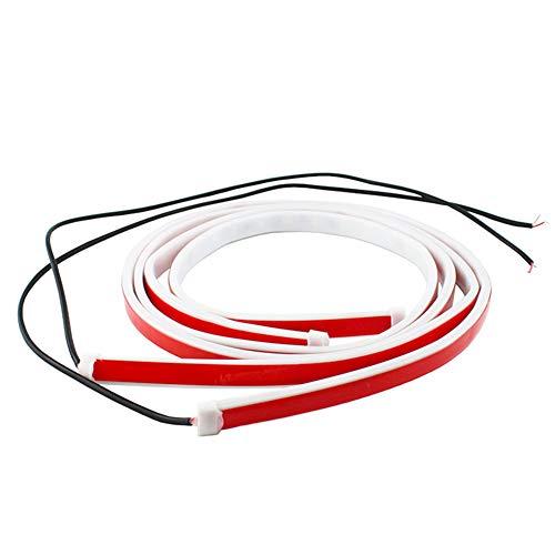 QoFina 2PCS Autotür-Warnleuchte Auto-LED-Türwarnleuchte, Türlampe öffnen Blitzlicht-Induktions-Dekorationslampe,verwendet für Beleuchtung, Dekoration und Warnung Anti-Rücklicht
