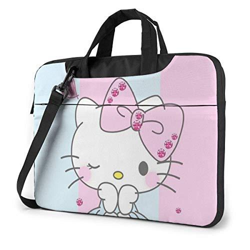 15.6 Inch Laptop Bag Pink Laptop Briefcase Shoulder Messenger Bag Case Sleeve LAPT-512