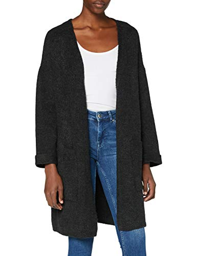 Mavi Damen Stripe Cardigan Strickjacke, Phantom, L
