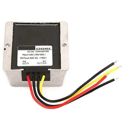 Regulador de voltaje de durabilidad Calidad Premium Boost/Buck Regulador de voltaje Auto Step Up/Down Converter para equipos eléctricos industriales/vehículos (3A)