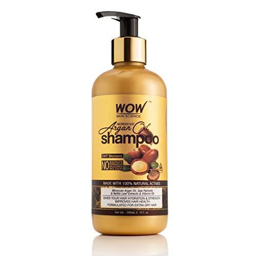 WOW Skin Science Moroccan Argan Oil Shampoo, 300 ml