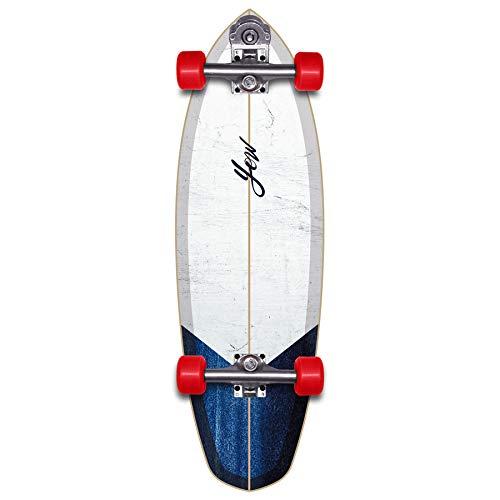 "YOW Rapa NUI 32"" The First Surfskate Skateboard, Adultos Unisex, Multicolor (Multicolor)"