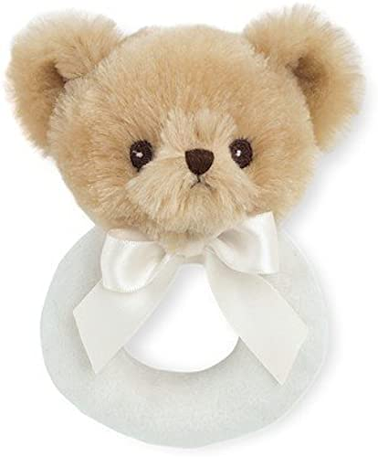 Bearington Baby Lil' Teddy Ring Rattle by Bearington