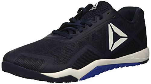Reebok Men's ROS Workout TR 2.0 Sneaker, Collegiate Navy/White/Acid Blue, 6.5 M US