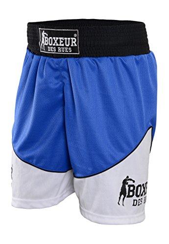 Boxeur des rues Pantalón Corto de Boxeo Fight Activewear, Hombre, Fight Activewear, Turquesa, Medium