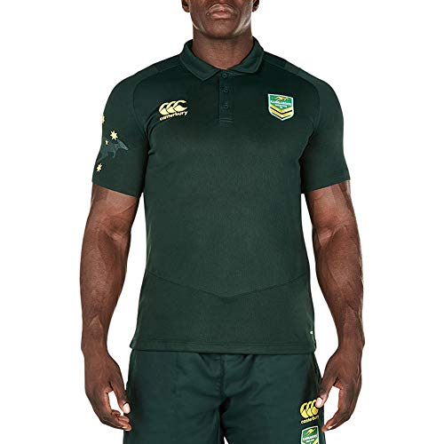 2017-2018 Kangaroos Replica Dry Polo Shirt (Green)