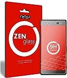 ZenGlass Nandu I Protector de Vidrio Flexible Compatible con Sony Xperia XA Ultra I Protector de Pantalla 9H I (más pequeño Que la Pantalla Curva)