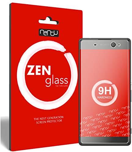 ZenGlass Flexible Glas-Folie kompatibel mit Sony Xperia XA Ultra Panzerfolie I Display-Schutzfolie 9H I (Kleiner Als Das Gewölbte Display)