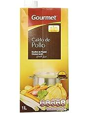 Gourmet - Caldo de Pollo - Calentar y listo - 1 l - [Pack de 4]