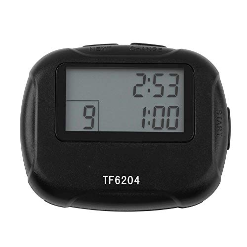 Electronics Interval Timer Segment Stopwatch Interval Chronograph for Sports Yoga Cross-fit Boxing Andere Trainingen