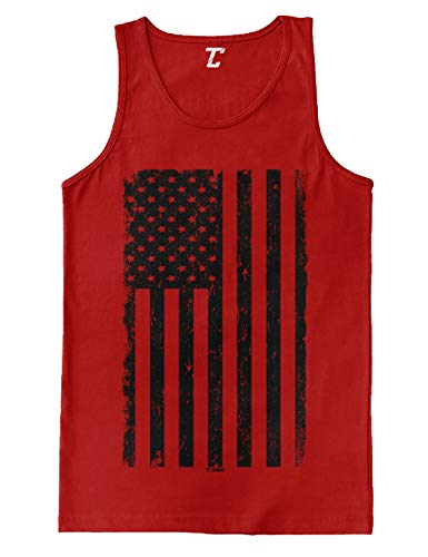 red and black tank top - 5