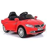 Auto Macchina Elettrica Crazy Rossa 6V 1 Posto Per Bambini