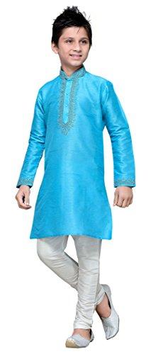 Silk Kids Kurta Churidar Pajama (Many Styles)