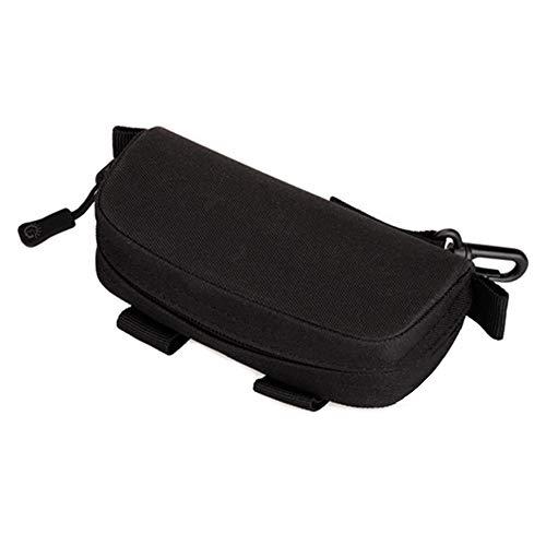 Balight Eyewear - Funda de PVC impermeable con cremallera portátil para gafas, accesorios para gafas - RIC-UH0105B, Negro