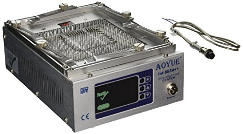 Aoyue 853A++ Programmable Quart Infrared Preheating Station with Dual Temperature Probes