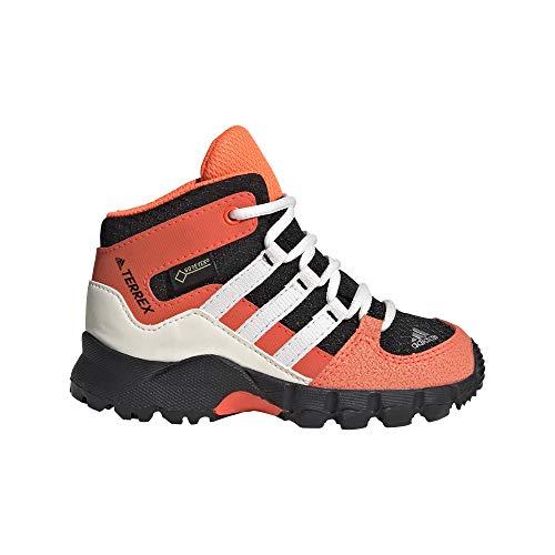 adidas Unisex Kinder Terrex MID GTX I Cross Trainingsschuhe, Negbás/Blatiz/Rojsol, 26.5 EU