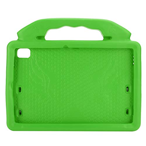 Dilwe Protective Case for Galaxy Tablet, 10.4 Inch P610 / P615 Tablet Anti-Fall EVA Shockproof Protective Cover, Soft Protective Case with Thumb-shaped Holder, Accessory(Green)
