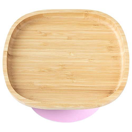 Eco Rascals 793618223113 - Plato infantil (bambú)