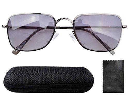 Eyekepper Federscharniere Polycarbonate Linse Bifocal Brille W/Fall +3.00