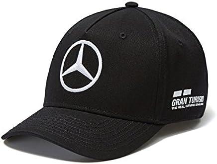 a6d60dcf Mercedes AMG F1 Team Driver Puma Hamilton Baseball Cap Black Official 2018