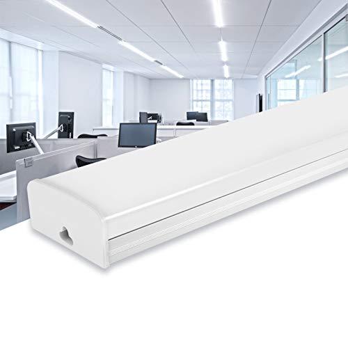 AYIYUN Tubo Fluorescente LED, 30W Lampara Super Brillante 2400 LM Lámpara, Blanco...