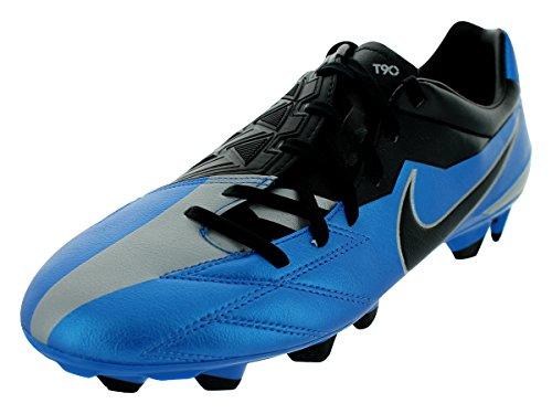 Total 90Strike IV FG scarpe da calcio Soar blu/nero/argento metallizzato