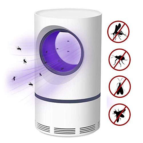 LFNIU Insektenvernichter SprayAnti-Moskito-Lampe , Insektenfallen fliegen Mörder/tötet elektrische Moskitos, tötet Insekten mit 368NM ultraviolettem USB-LED-Licht