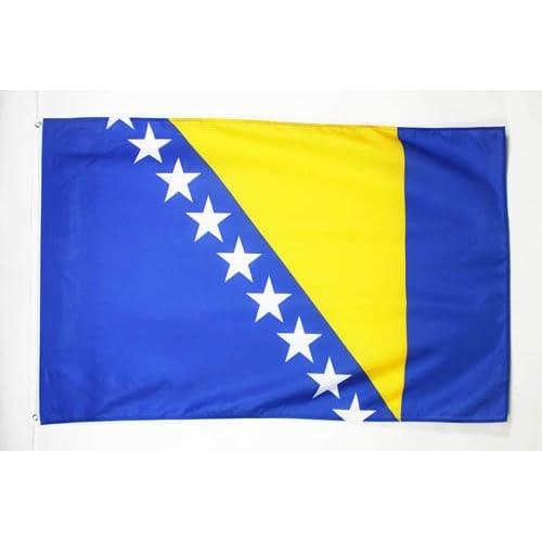 AZ FLAG Bandiera Bosnia ED Erzegovina 150x90cm - Bandiera BOSNIACA 90 x 150 cm