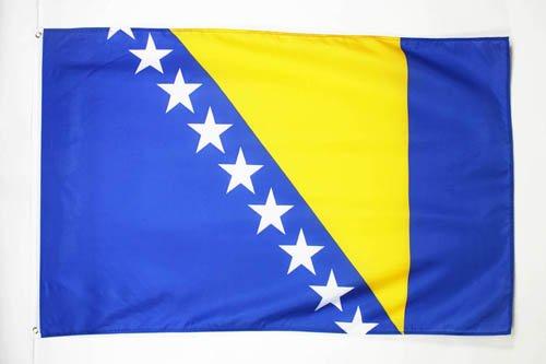 AZ FLAG Flagge BOSNIEN UND HERZEGOWINA 150x90cm - BOSNISCHE Fahne 90 x 150 cm - flaggen Top Qualität