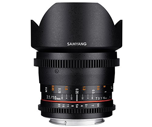 Oferta de Objetivo Samyang V-DSLR 10mm T3.1 Canon