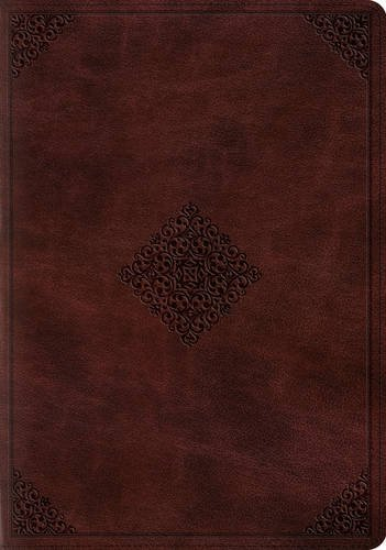 ESV Study Bible (TruTone, Mahogany, Ornament Design)