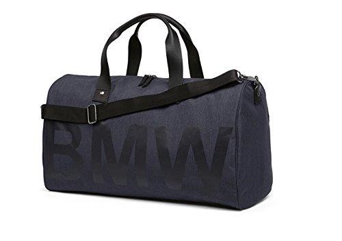 BMW Original Weekender Duffle Bag Reise- und Feizeittasche Sporttasche Blau Kollektion 2018/2020