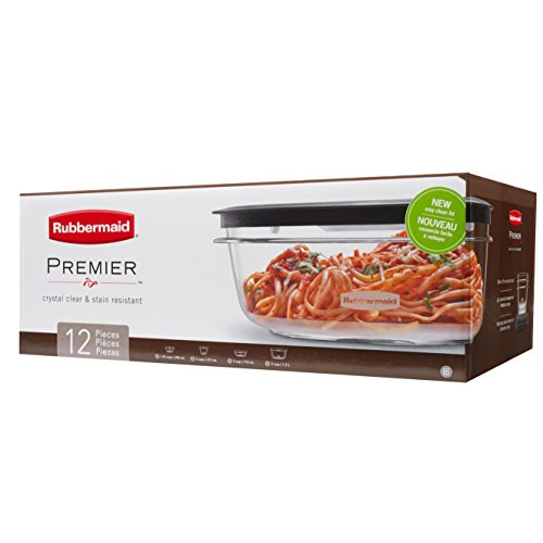 Rubbermaid Premier Food Storage Containers