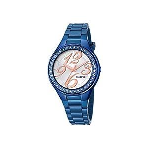 Calypso–Reloj de Cuarzo para Mujer con Plata Esfera analógica Pantalla