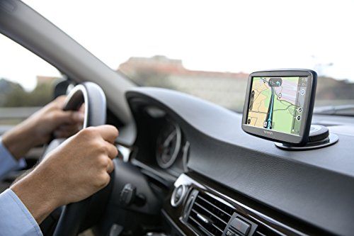 """TomTom VIA 1625TM 6"""" Portable Touchscreen Car GPS Navigation Device, Lifetime Traffic and Map Updates"""