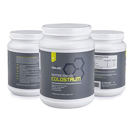Pure Bovine Colostrum - TBR Labs - 200 Gram Premium Powder - Antibiotic & Hormone Free - USA Sourced - All Natural - 100% First Milking