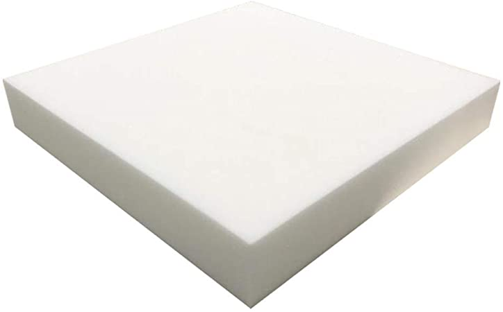 Seat Replacement, Upholstery Sheet, Foam Padding FOAMMA 1 x 24 x 27 High Density Upholstery Foam Cushion Made in USA!!