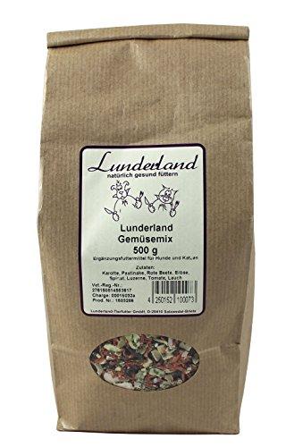 Lunderland lf004 de légumes Mix, 500 g
