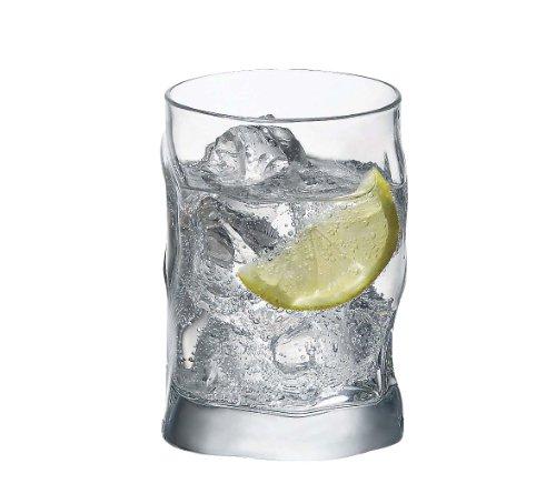 Bormioli Rocco 340420-M02 1 Verre à Whisky Sorgente, 30 cl, Transparent