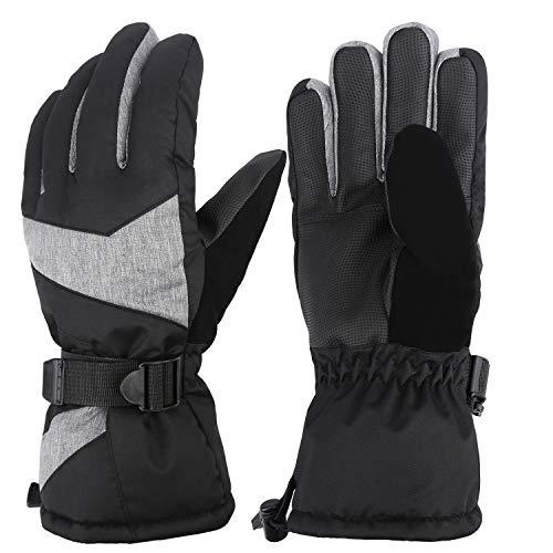 mysuntown Ski Gloves Waterproof Warm Snow Gloves Snowboard Snowmobile Winter Gloves for Men Women...