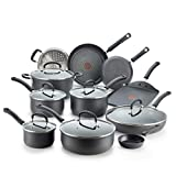 T-fal E765SH Ultimate Hard Anodized Nonstick 17 Piece Cookware...