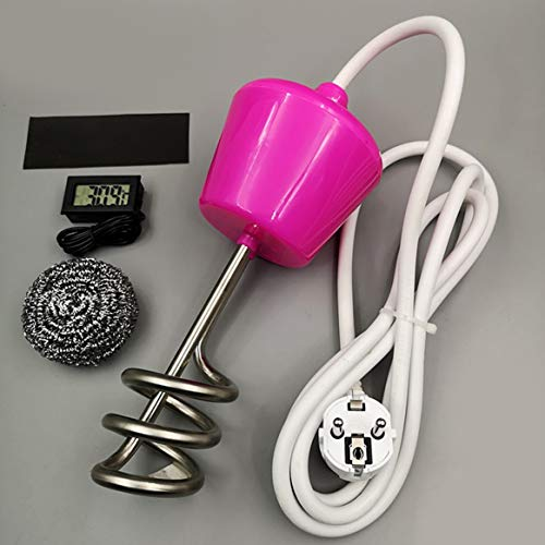 Delicacydex Calentador de Agua con Calentador de Agua para