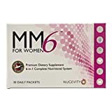 Complete Multivitamin for Women 45+ with Antioxidants and Omega-3 Plus Heart, Bone and Hormone Support - MM6 for Women with Added Vitamin D and Calcium