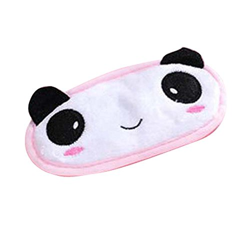 Cute Fluffy Eye Masks Funny Lovely Eyeshade pour les filles, style Cartoon