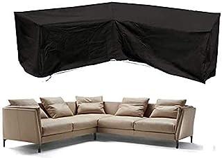 Virtetic V Shape Patio Sofa Cover, Corner Sofa Cover, Patio Garden Furniture Cover, Waterproof Water Resistant Sofa Cover...