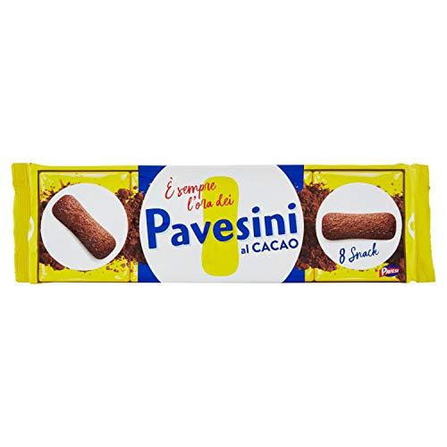 Pavesi Pavesini Biscotto Leggero al Gusto Cacao per Colazione o Gustoso Break, Confezione da 200 g